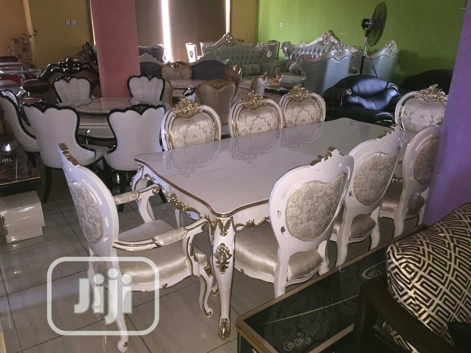 Archive: Royal Dinning Table Wooden By 8 With 8chairs