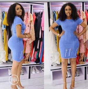 Beautiful Jeans Gown | Clothing for sale in Lagos State, Ogudu