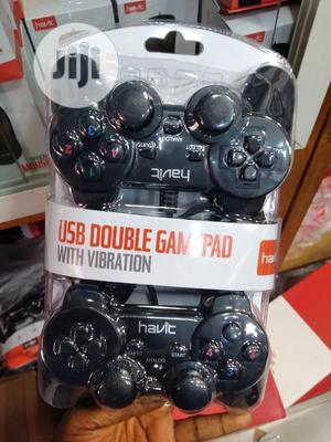 Havit USB Double Gamepad With Vibration   Video Game Consoles for sale in Lagos State, Ikeja