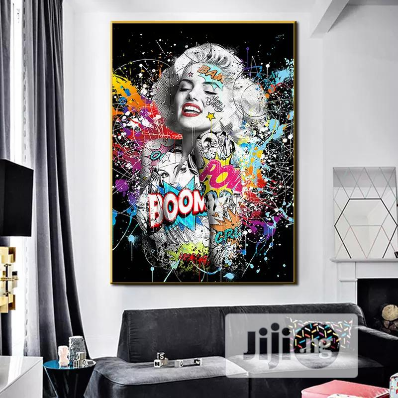 Wall Art Painting With Frame
