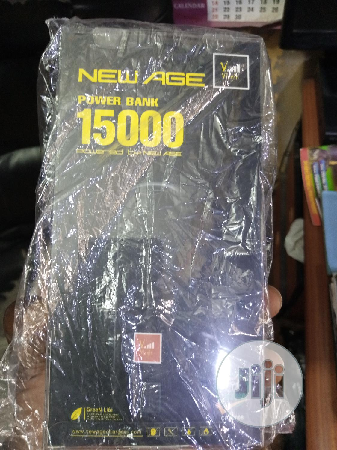15 000 Mah New Age Power Bank   Computer Accessories  for sale in Wuse 2, Abuja (FCT) State, Nigeria