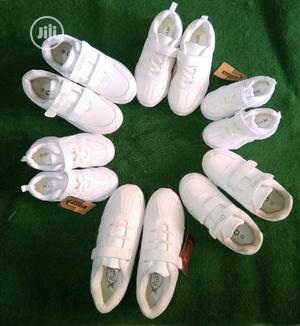 School White Canvass | Children's Shoes for sale in Abuja (FCT) State, Gwarinpa