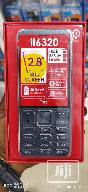 New Itel it6320 Black | Mobile Phones for sale in Lagos State, Ikeja