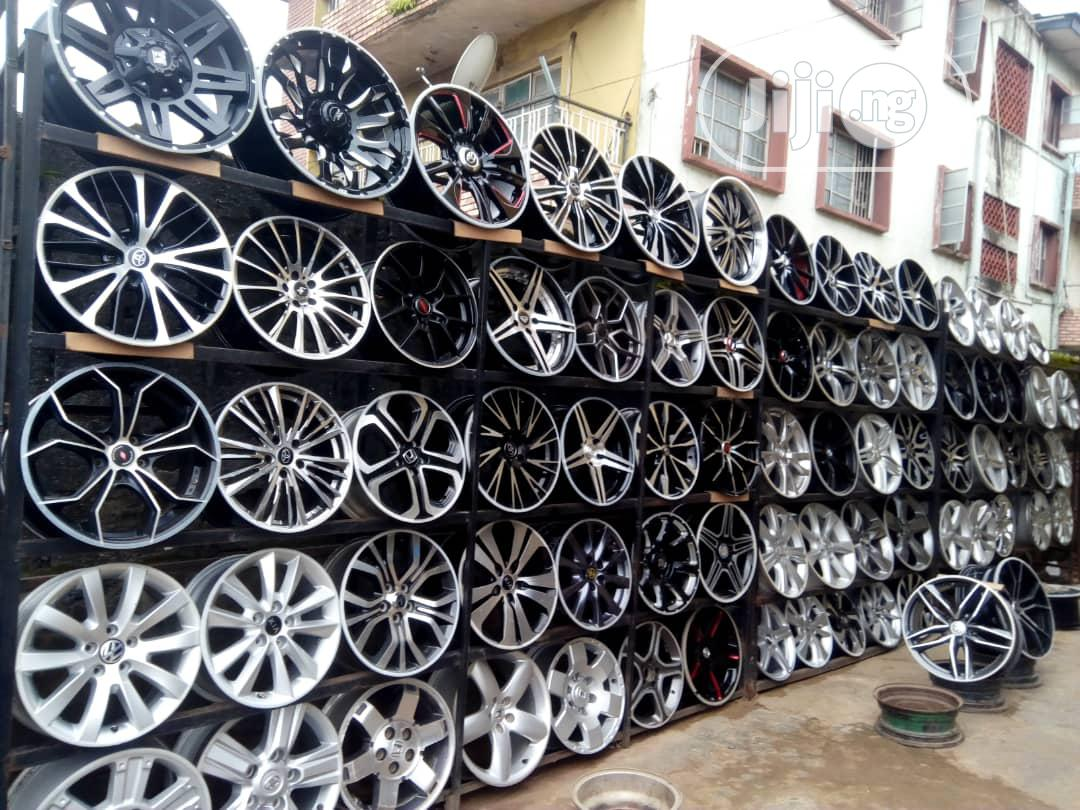 Alloy Rim For All Sizes | Vehicle Parts & Accessories for sale in Mushin, Lagos State, Nigeria