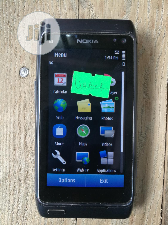 Nokia N8 16 Gb Black In Ikeja Mobile Phones Jc Onoja Jiji Ng