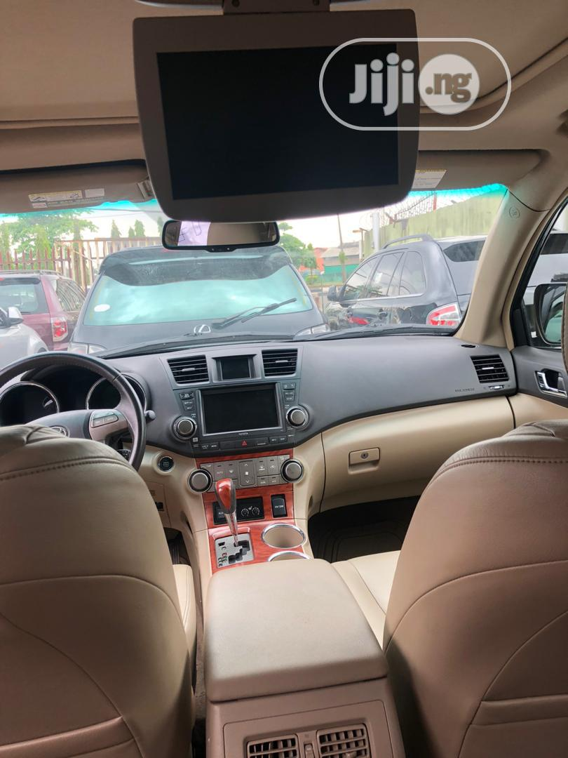 Toyota Highlander 2009 Limited 4x4 Black | Cars for sale in Ikeja, Lagos State, Nigeria