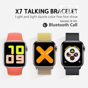 X7 ECG Heart Rate Monitor Bt Call Wrist Smart Watch   Smart Watches & Trackers for sale in Lagos State, Ikeja