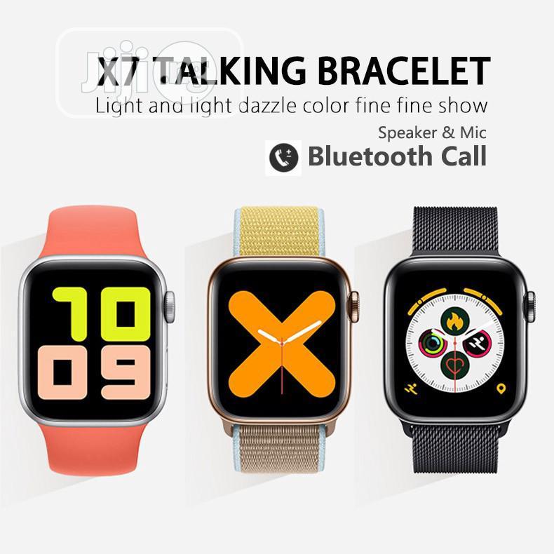 X7 ECG Heart Rate Monitor Bt Call Wrist Smart Watch