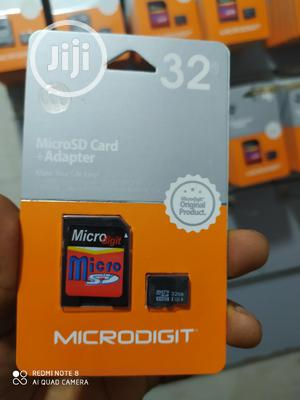 Microdigit 32GB Memory Card With Adapter | Accessories for Mobile Phones & Tablets for sale in Lagos State, Ikeja