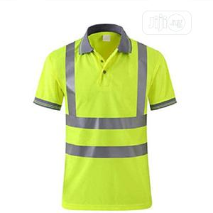 Super Steel Reflective Polo (Lemon Color) | Safetywear & Equipment for sale in Lagos State, Ikeja