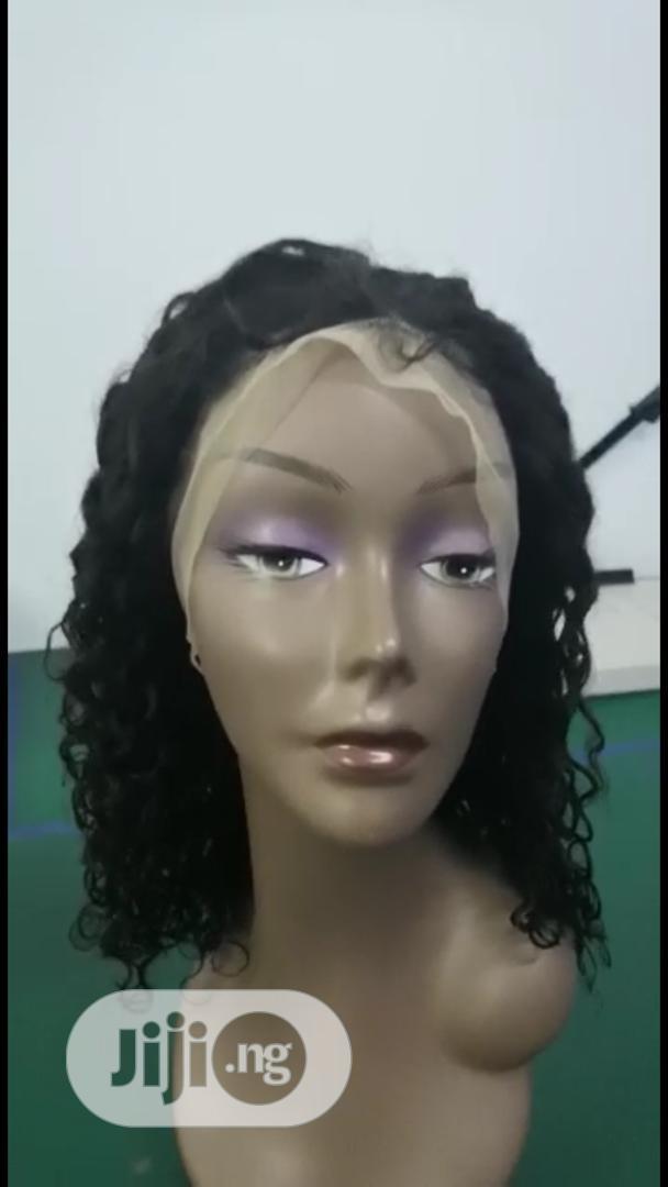 Classy Brazilian Kinky Wig (16 Inches) | Hair Beauty for sale in Awka, Anambra State, Nigeria