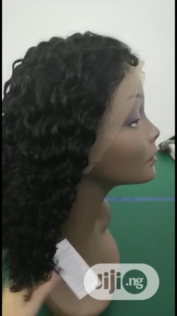 Classy Brazilian Kinky Wig (16 Inches)