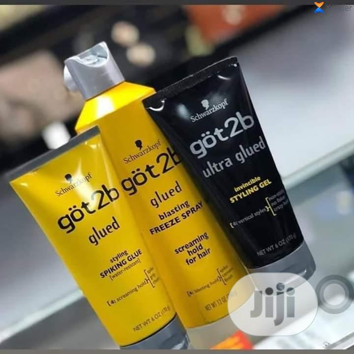 Got2be Glued Hair Glue And Ultra Hold Spray Combo