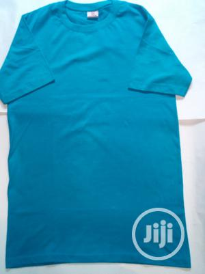 Blue Short Sleeved Polo Shirt   Clothing for sale in Lagos State, Apapa