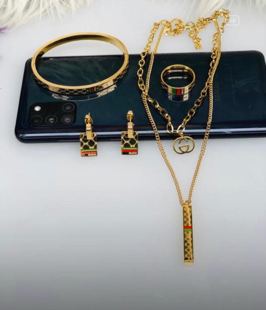 Archive: Gucci Customized Jewelry Set