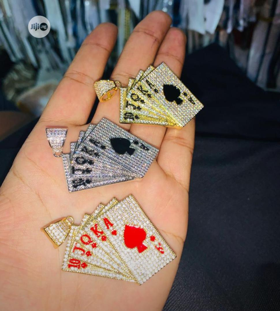 Play Card Customized Pendants