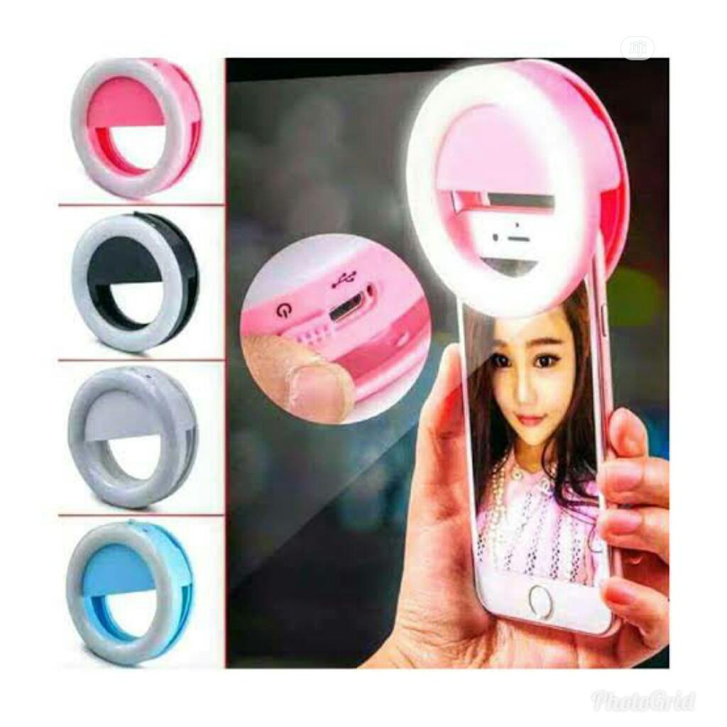 Selfie Ring Light For Mobile Phone   Accessories for Mobile Phones & Tablets for sale in Lagos Island (Eko), Lagos State, Nigeria