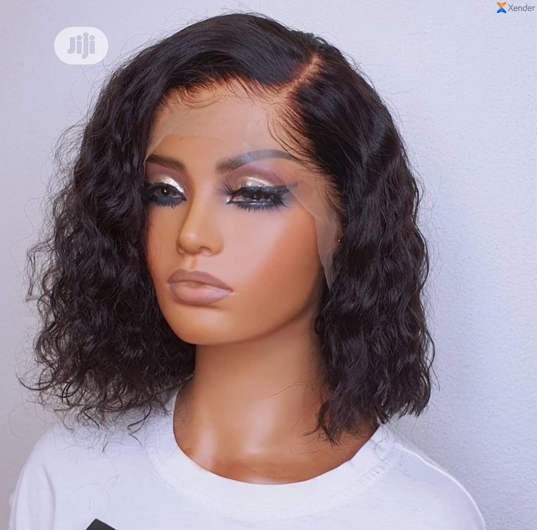 Classy Brazilian Water Wave Curls Wig(14 Inches)