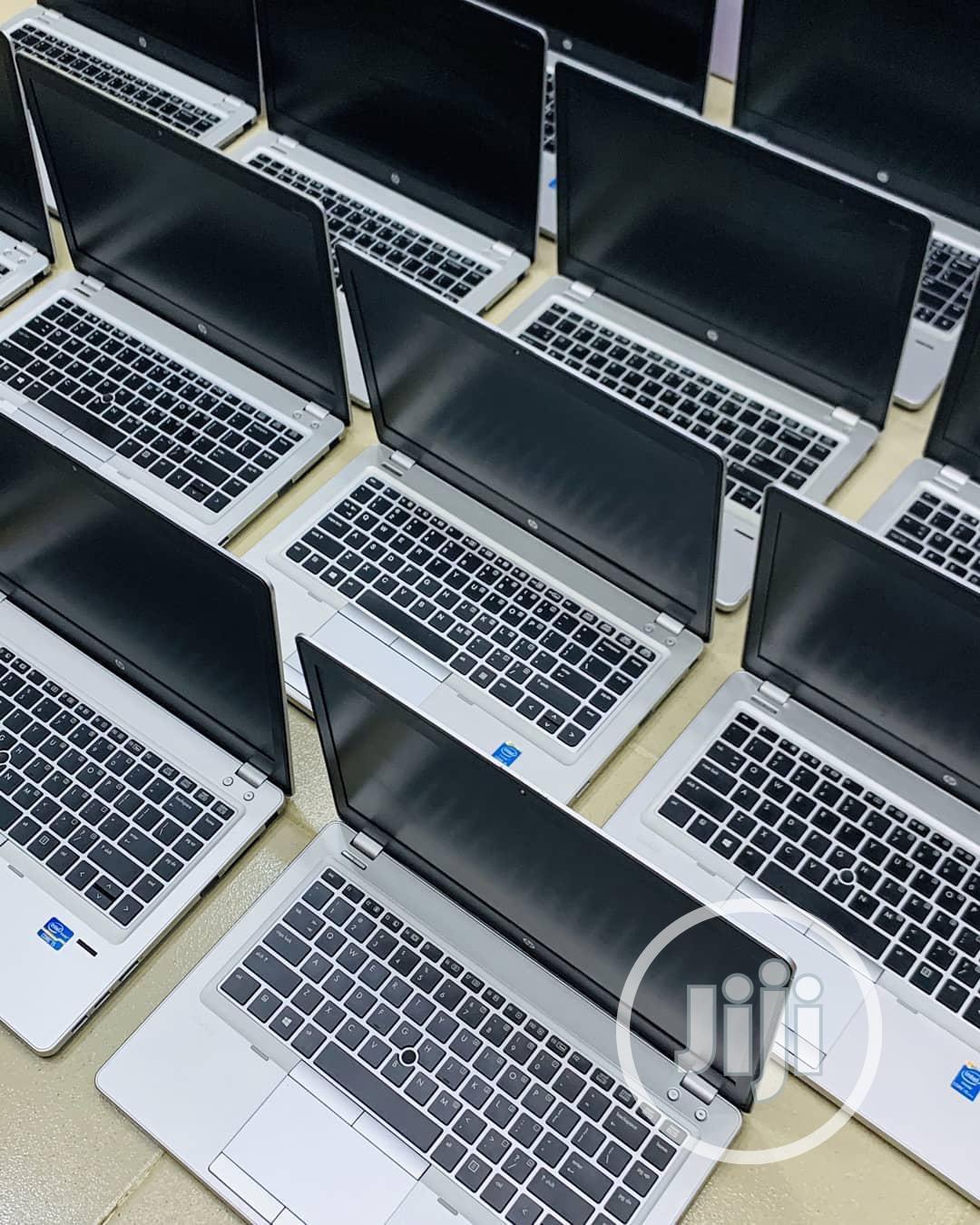Laptop HP EliteBook Folio 9470M 8GB Intel Core i5 HDD 500GB   Laptops & Computers for sale in Ikeja, Lagos State, Nigeria