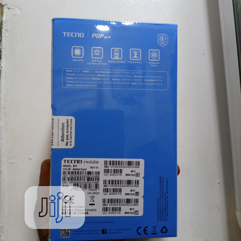 New Tecno Pop 2F 16 GB Black | Mobile Phones for sale in Ikeja, Lagos State, Nigeria