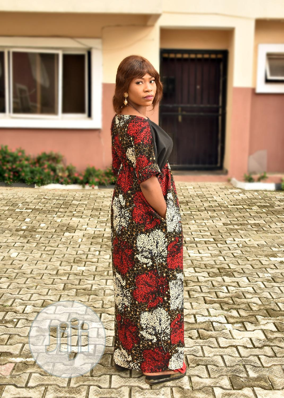 Ankara Dress With Creep | Clothing for sale in Lagos Island (Eko), Lagos State, Nigeria