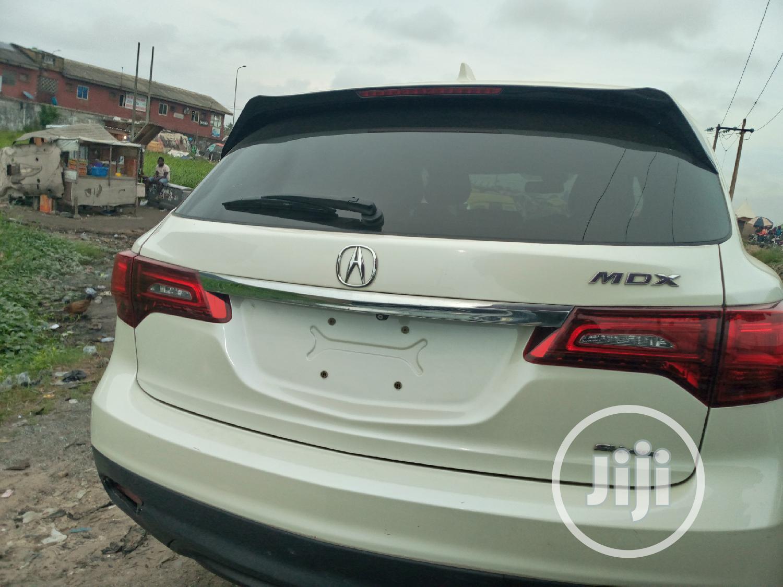 Acura MDX 2015 White   Cars for sale in Amuwo-Odofin, Lagos State, Nigeria