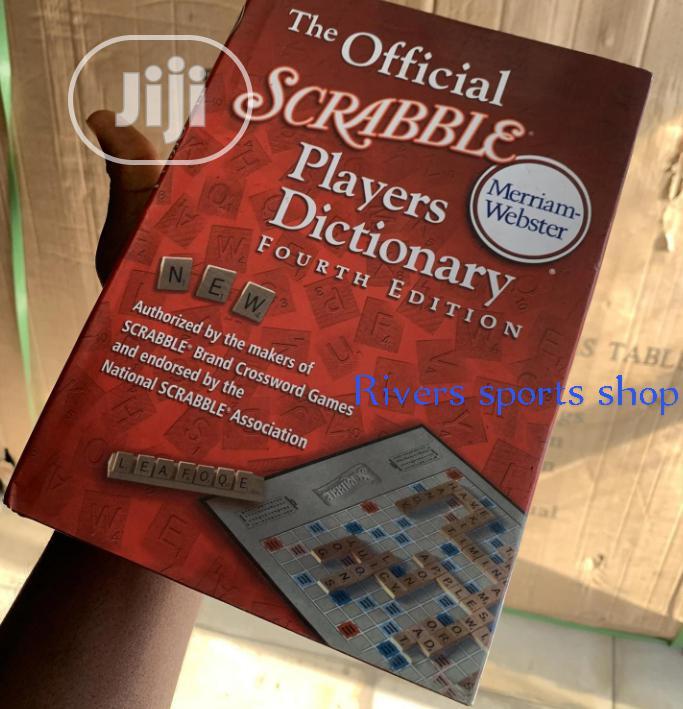 Scrabble Dictionary Big Size