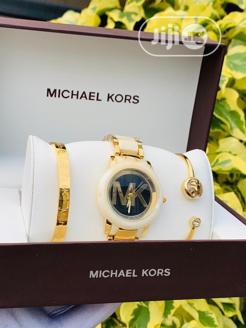Archive: Micheal Kors Set Wrist Watch