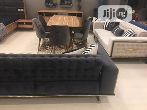 Sofa Leather Chair With Dining Table | Furniture for sale in Lagos State, Magodo