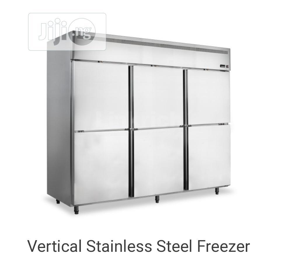 Commercial Industrial 6 Doors Stainless Steel Freezer