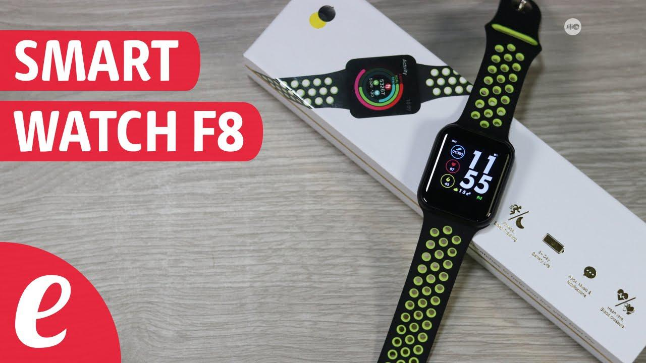 F8 Smart Watch With Heart Rate, Blood Pressure Sleep Monitor