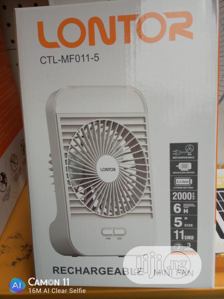 Lontor Rechargeable Mini Fan