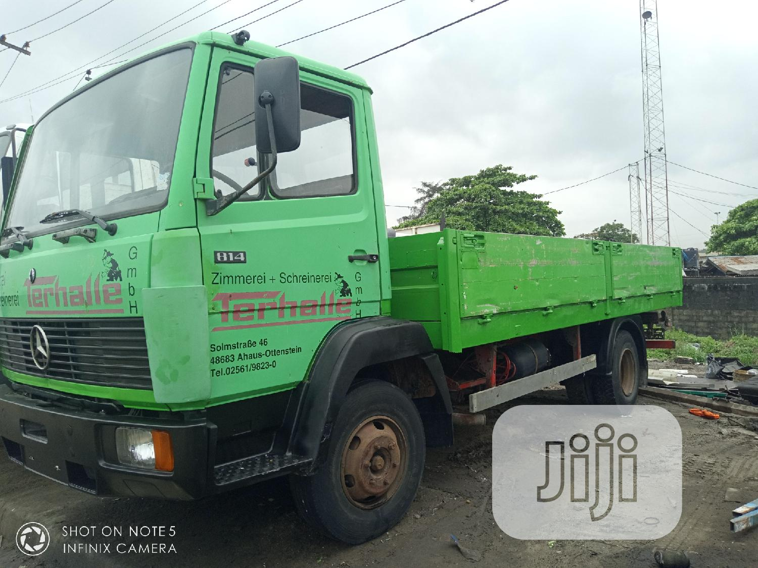 814 Pick Up 17 Fit German Use | Trucks & Trailers for sale in Apapa, Lagos State, Nigeria