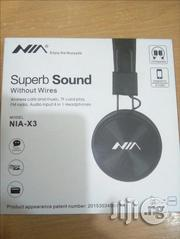 Superb Sound NIA X3 Wireless Headset | Headphones for sale in Lagos State, Ikeja