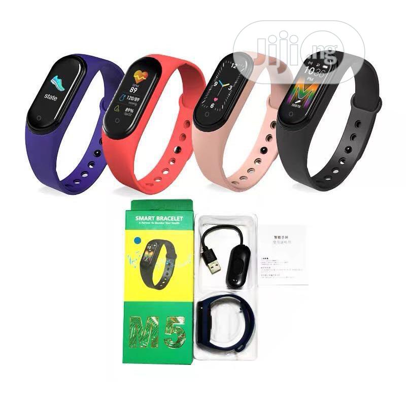 New M5 Smart Watch.. | Smart Watches & Trackers for sale in Aba North, Abia State, Nigeria