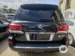 Lexus LX 2015 570 Base Black   Cars for sale in Abuja (FCT) State, Asokoro