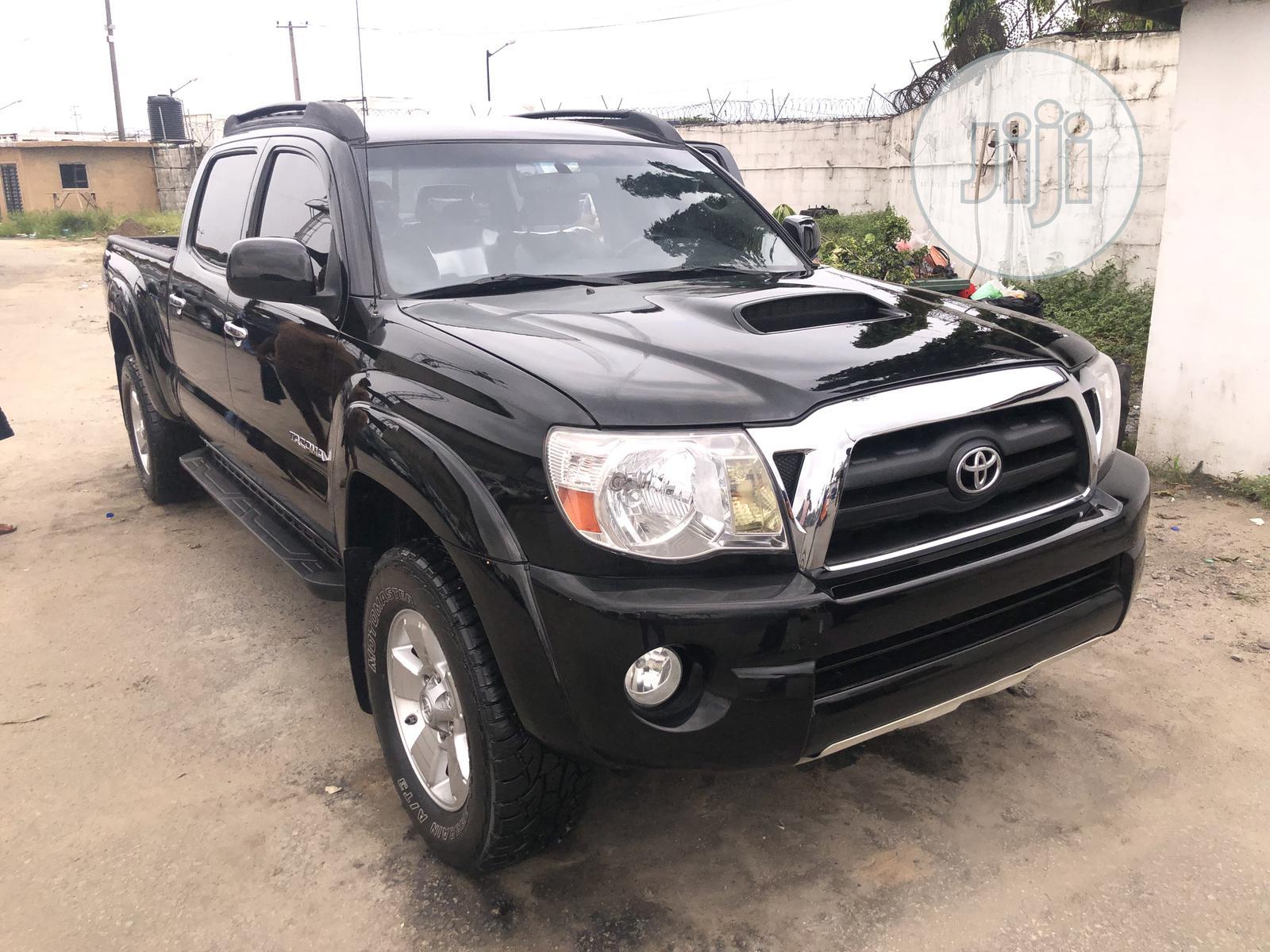 Toyota Tacoma 2008 Black