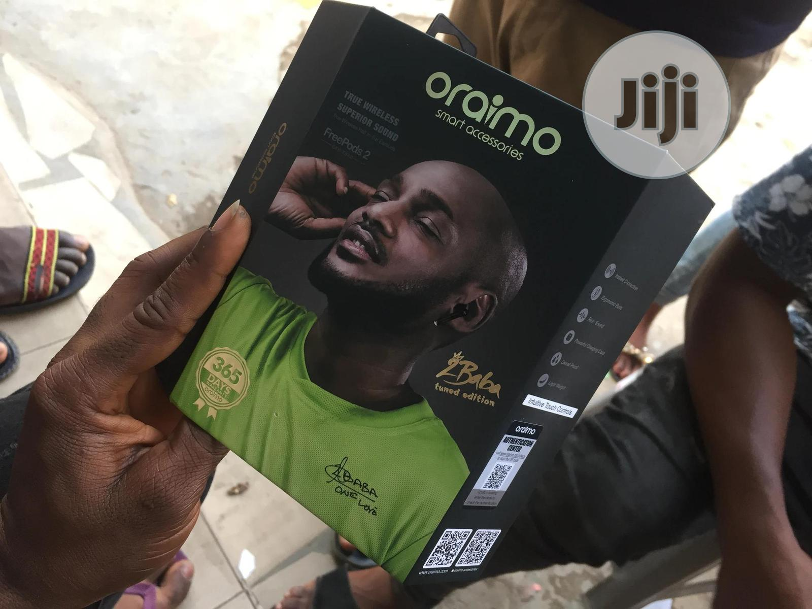Oraimo Freepod2 Black | Accessories for Mobile Phones & Tablets for sale in Ikeja, Lagos State, Nigeria
