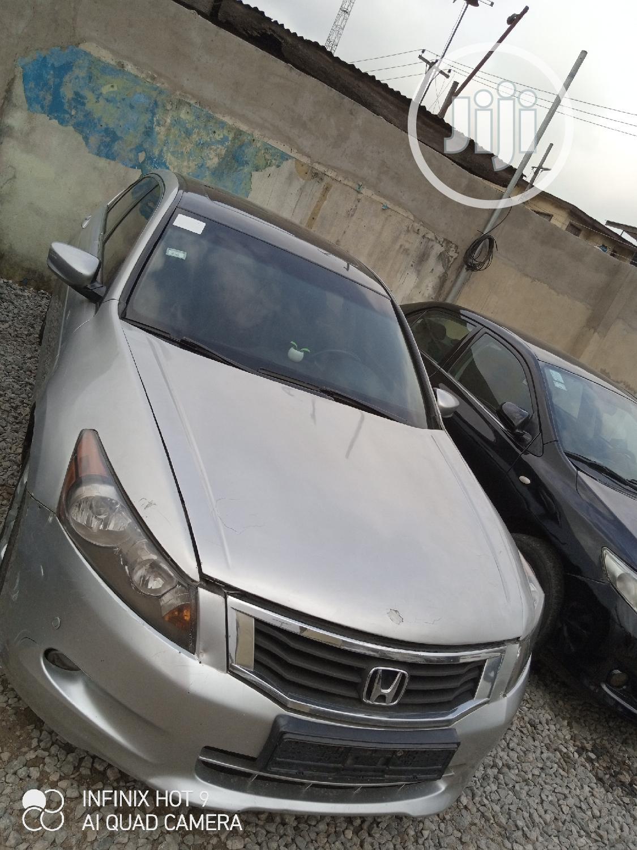 Honda Accord 2008 Beige