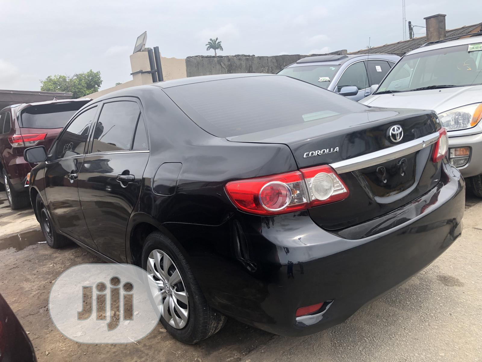 Toyota Corolla 2013 Black | Cars for sale in Surulere, Lagos State, Nigeria