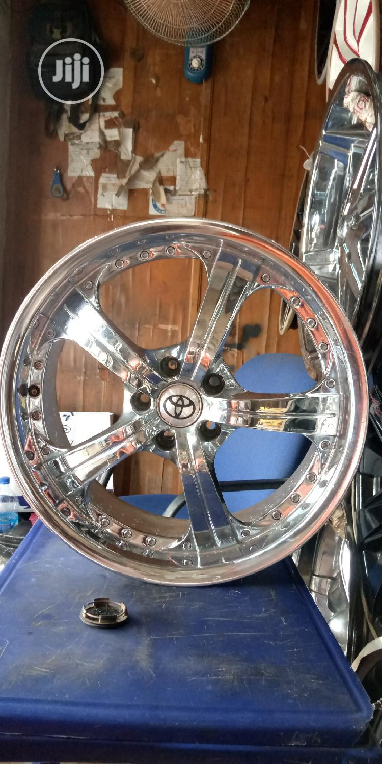 19 Rim For Lexus Rx350 Toyota Highlander | Vehicle Parts & Accessories for sale in Maryland, Lagos State, Nigeria