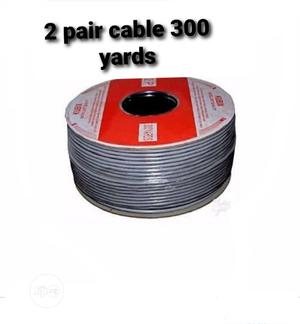 2 Pair Cable By 300 Yards For Intercom PABX And Phone. | Accessories & Supplies for Electronics for sale in Lagos State, Ikeja