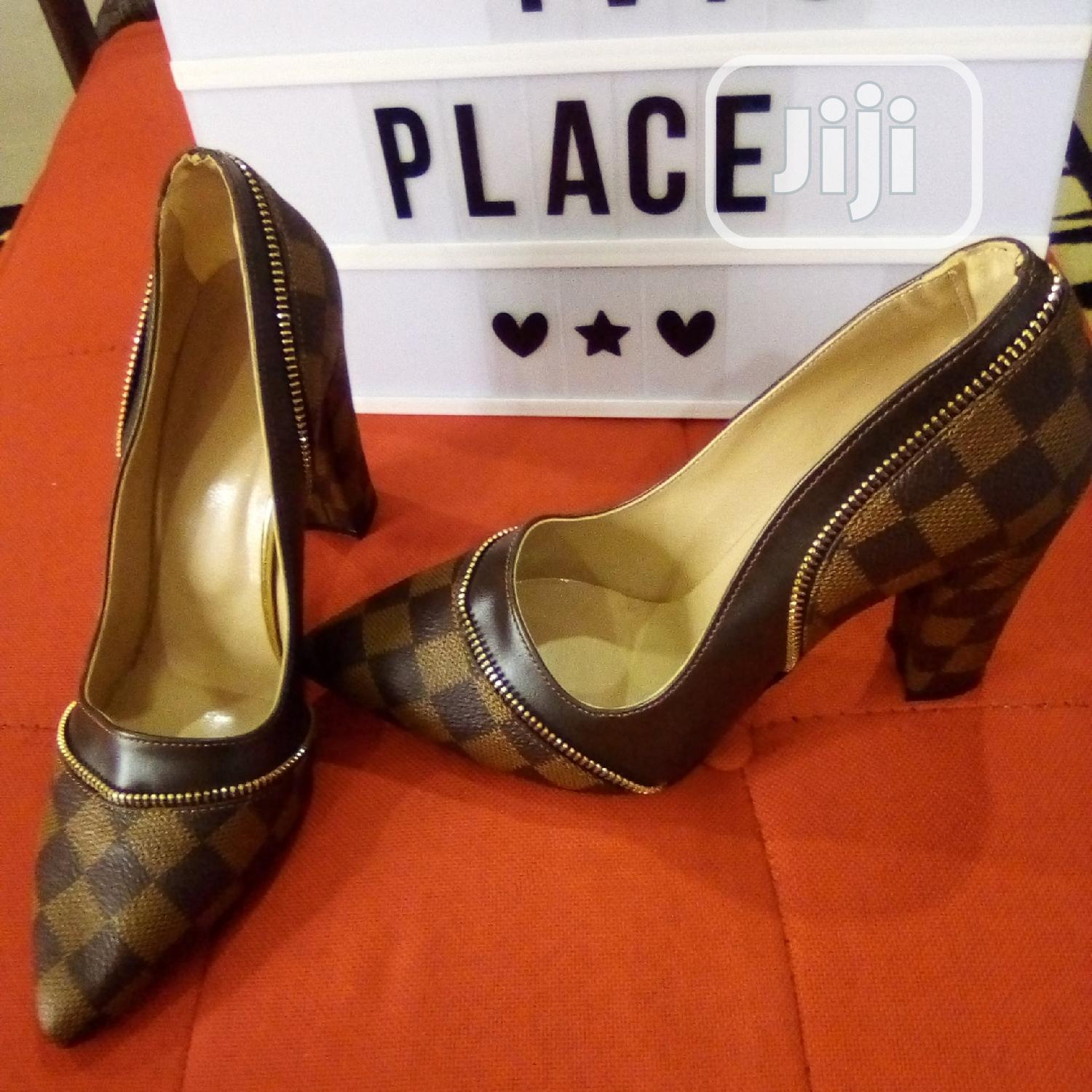 Archive: A Louis Vuitton High Shoes And Bag For Women