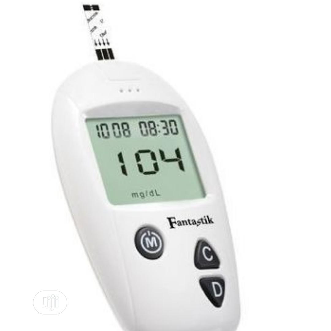 Fantastik Accu Blood Glucose Meter + 10 Strips +10 Lancet   Medical Supplies & Equipment for sale in Ikotun/Igando, Lagos State, Nigeria