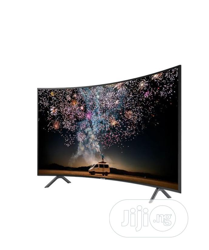 """Samsung 65"""" UHD 4K Curved Smart TV 