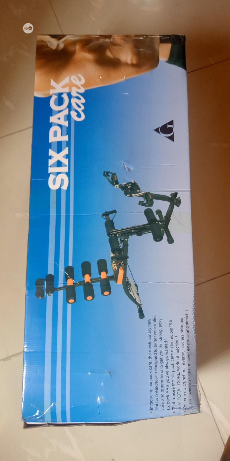 Six Pack Wonder Core With Pedal | Sports Equipment for sale in Surulere, Lagos State, Nigeria