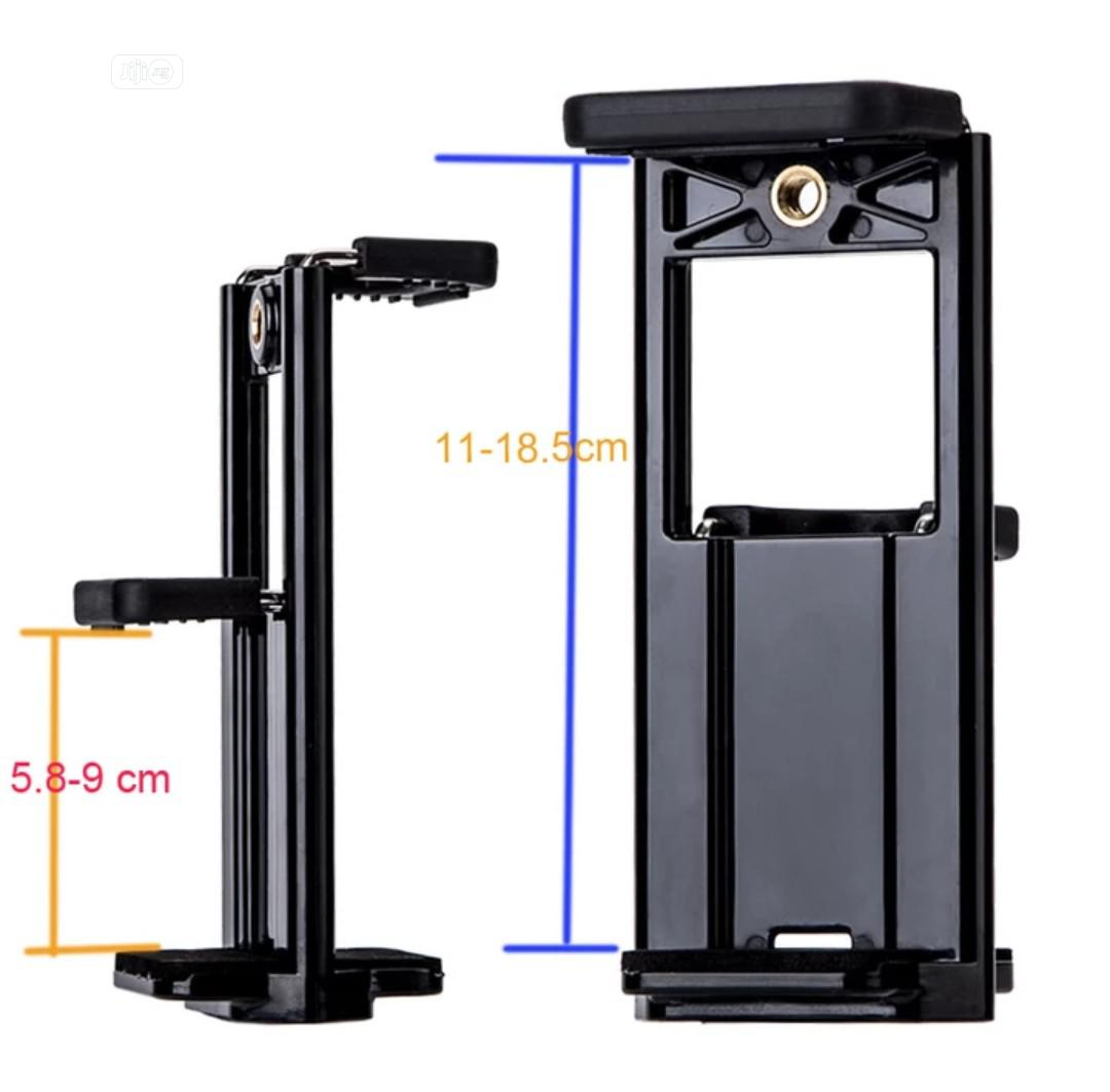 2 In 1 Universal Phone Tripod Holder Stand Mount For Tablet