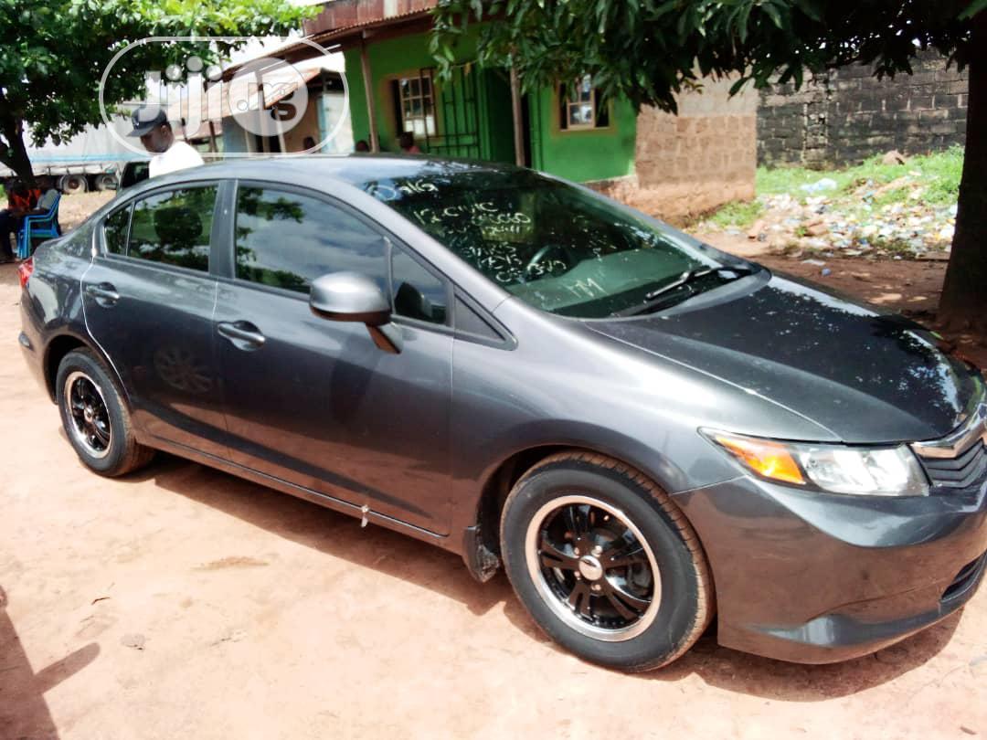 Honda Civic 2014 Gray | Cars for sale in Benin City, Edo State, Nigeria