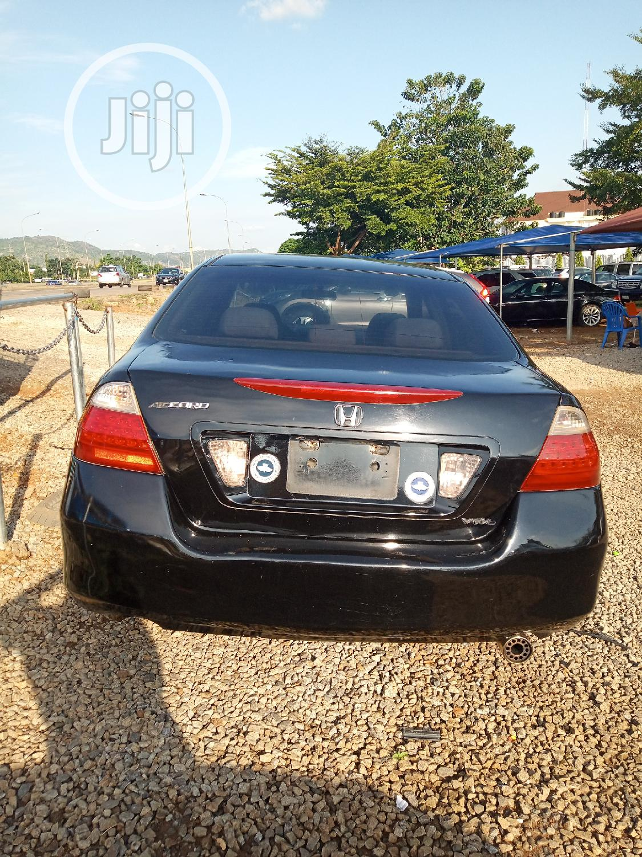 Honda Accord 2007 Black | Cars for sale in Gwarinpa, Abuja (FCT) State, Nigeria