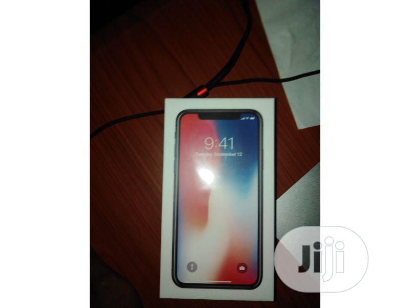 New Apple iPhone X 64 GB Black | Mobile Phones for sale in Ikeja, Lagos State, Nigeria